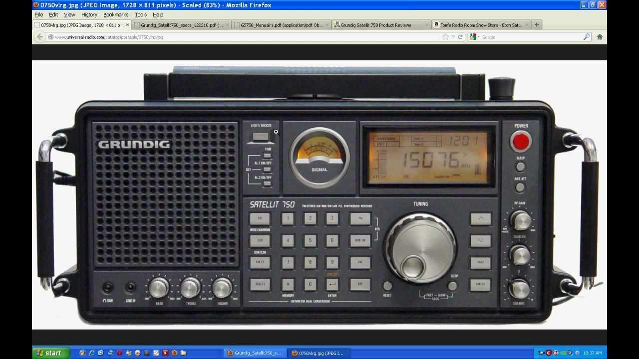 TRRS #0067 - Grundig (Eton) Satellit 750 AM/FM/LW/Air