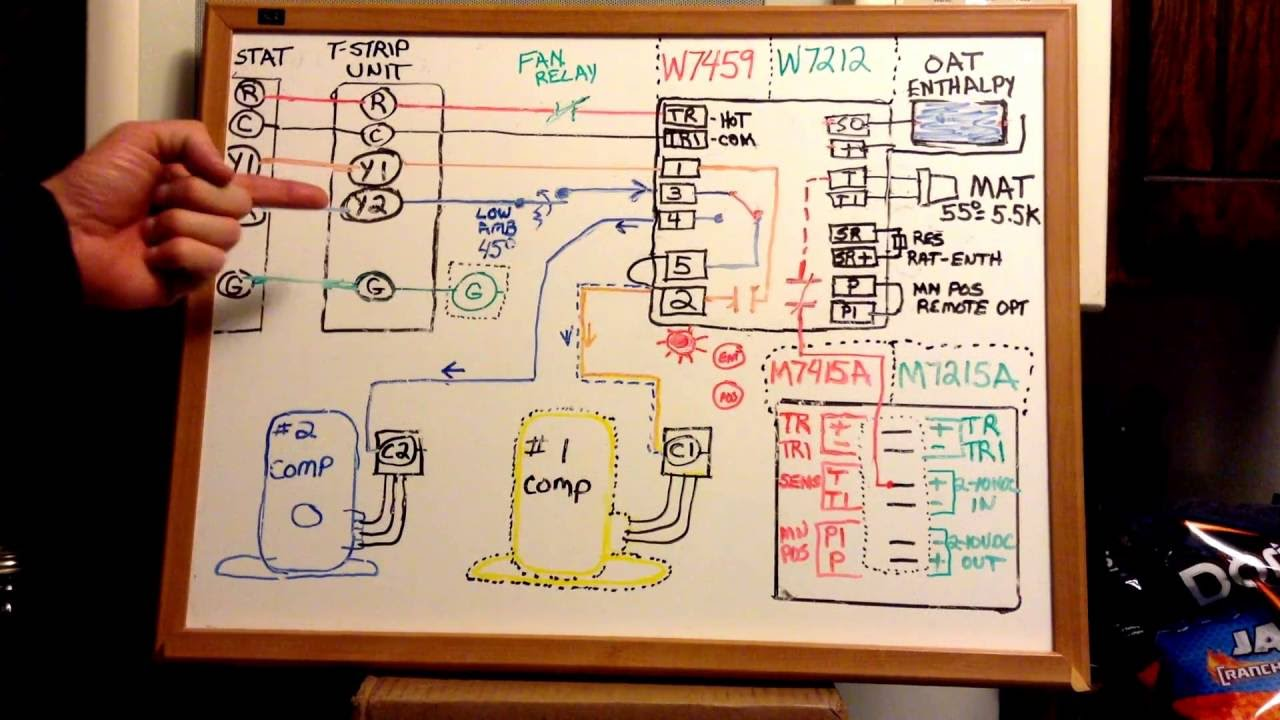 Economizer Logic Troubleshooting Youtube. Economizer Logic Troubleshooting. Wiring. W7459a1001 Wiring Diagram At Scoala.co