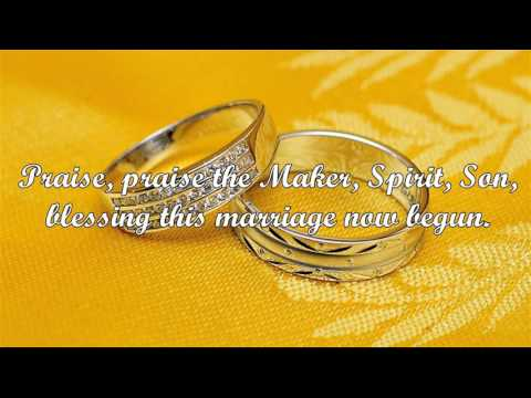 Blessing the Marriage (John Bell)