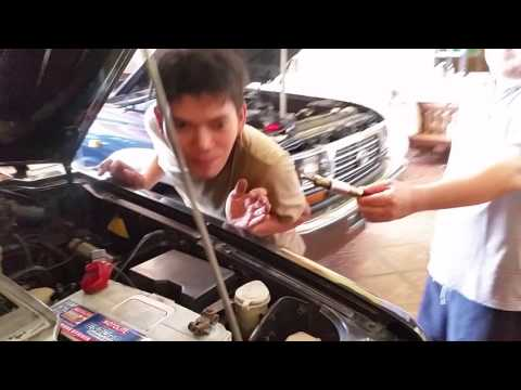 TRIBOOSTER FUEL SAVER VS Fake fuel saver  uninstalled  Mitsubishi Montero 2 5 2& Pajero 4m40 engine