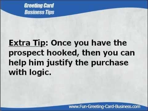 Home Based Greeting Card Business Tip Emotional Ing