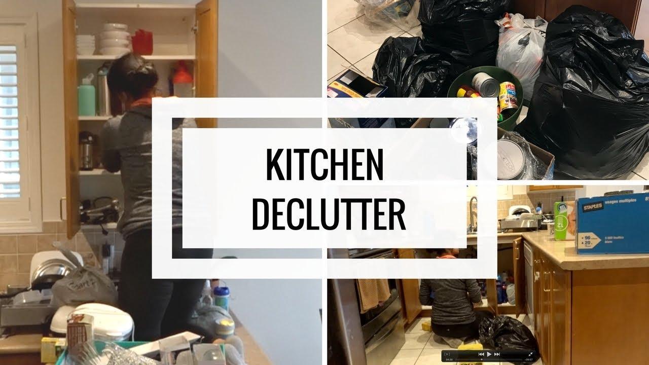 Declutter My Kitchen   Motivation   MOM BOSS OF 3 - YouTube