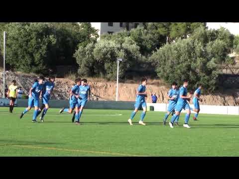 Vídeo resumen del partido entre el Cadete de la UD Finestrat y el CF Alfaz del Pi B