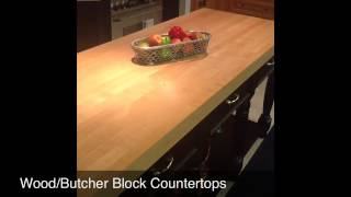 Wood Butcher Block Countertops - Reico Kitchen & Bath