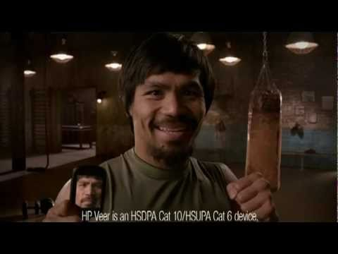 HP Veer Commercial Featuring Manny Pacquiao