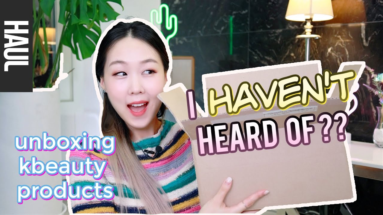 UNBOXING/FIRST IMPRESSIONS: Korean Products I've Never Heard Of! Shopee Haul | meejmuse