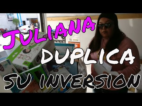 See how Juliana duplicates her money!