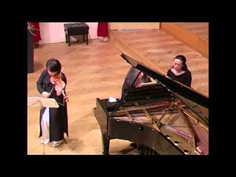 Martha Argerich&Yuzuko Horigome Scumann vl sonata nr1 1st ,