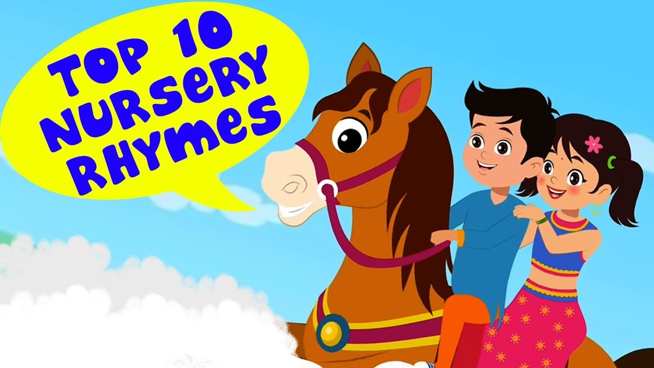 Top 10 Hindi Nursery Rhymes | Hindi Poems For Kids | Kids Rhymes | Hindi  Rhymes For Childrens