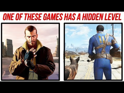 10 Video Game HIDDEN LEVELS That SHOCKED Everyone
