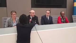 Conférence de presse de l'équipe de la défense de nos leaders après leur acquittement.