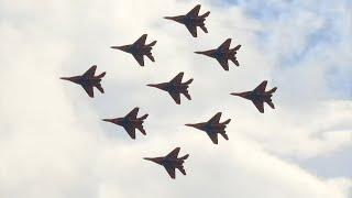 Авиашоу состоялось в Кубинке, в рамках форума «Армия-2020»