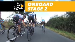 Onboard camera - Stage 2 - Tour de France 2018