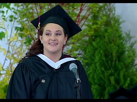 Dean College Commencement 2013: For Good (from the hit musical