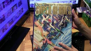 The World's Greatest Superheroes by Paul Dini and Alex Ross Hardcover