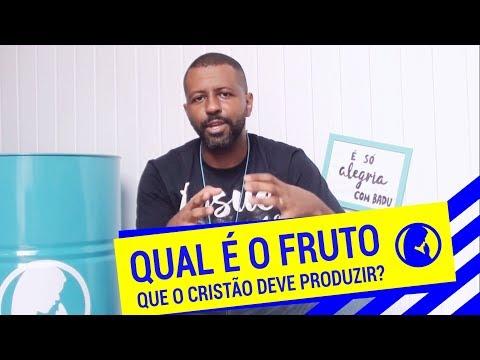 É SÓ ALEGRIA // QUAL FRUTO O CRISTÃO DEVE PRODUZIR #3 // Eduardo Badu
