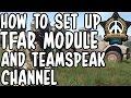 ARMA 3: How To Setup Task Force Radio Module And Teamspeak Server Channel (Mission Creators)