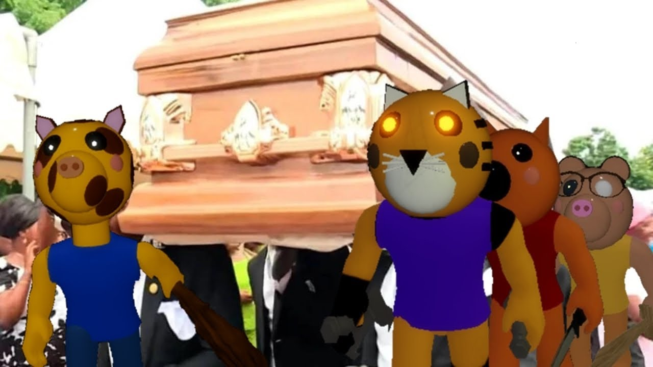 Download Coffin Dance Meme in PIGGY ROBLOX - COMPILATION