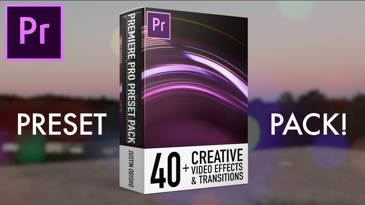 Adobe Premiere Pro Preset Pack: 40+ Video Effects & Transitions