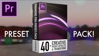 40+ Creative Video Effects & Transition PRESETS Pack for Adobe Premiere Pro CC - by Justin Odisho