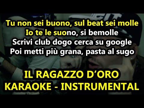 Gué Pequeno ft. Caneda: IL RAGAZZO D'ORO (Karaoke - Instrumental)
