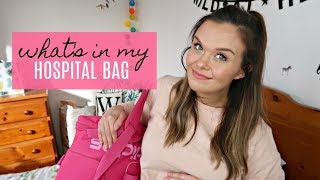 WHAT'S IN MY HOSPITAL BAG? WHAT TO PACK? LABOUR & DELIVERY