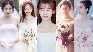 Những mỹ nhân đẹp rạng ngời với váy cưới trên màn ảnh Hoa ngữ hiện đại