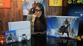 Unboxing PlayStation 4 Blanco Destiny en Perú (White PS4)