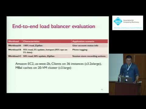An in-memory object caching framework with adaptive load balancing