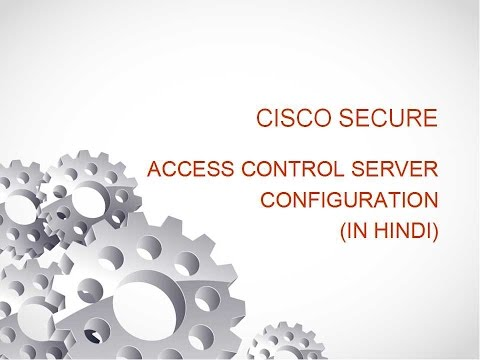Cisco AAA with ACS Server configuration in gns3 & VM ( IN HINDI )