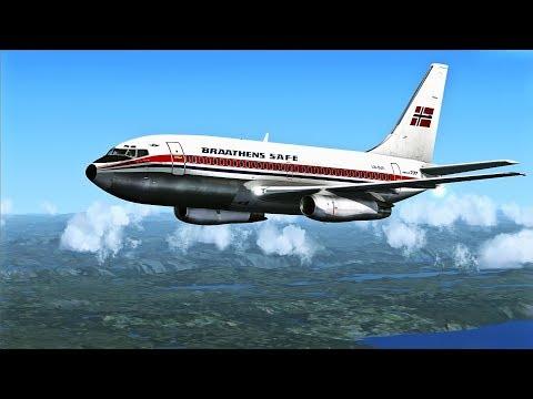 FSX-SE - MilViz Boeing 737-200 short flight
