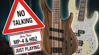 Harley Benton - No Talking - HBZ & MP-4 - Just Playing -