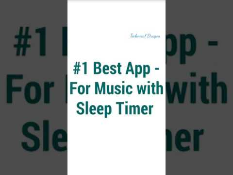 #1 Best Apps | Music player with Sleep Timer |