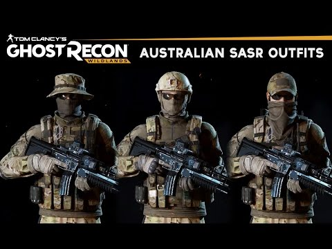 Ghost Recon Wildlands - How to make Australian Special Forces Outfits (SASR Uniforms)