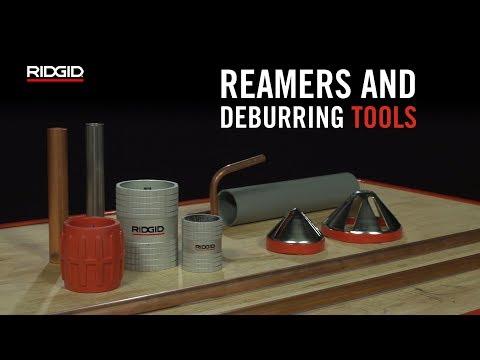 RIDGID Reamers & Deburring Tools
