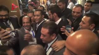 """بالفيديو  بعد تكريمه من """"الأهرام"""".. محمد رمضان: """"بقيت أعلى أجر في مصر"""""""