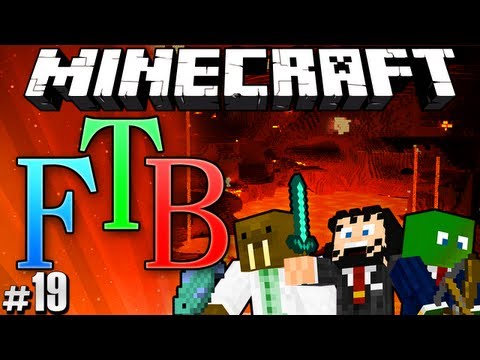 Minecraft Feed The Beast #19 - Mystcraft & The Nether