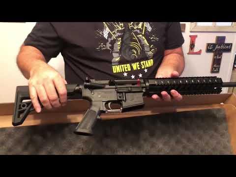 Diamondback DB15 AR-15 unboxing