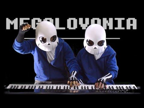 Undertale - MEGALOVANIA Piano Duet | Frank & Zach Piano Duets