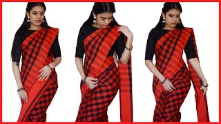 How to drape a saree | Explained in detail | GIVEAWAY (CLOSED) | With Love Sindhu