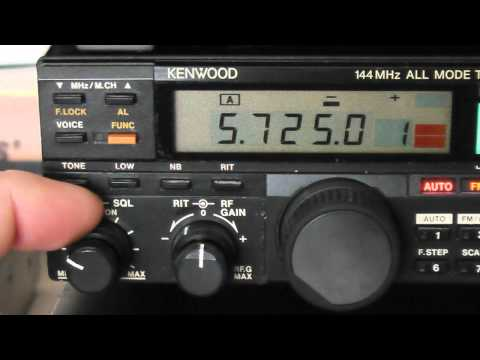 kenwood TR-751e 2 meter multimode