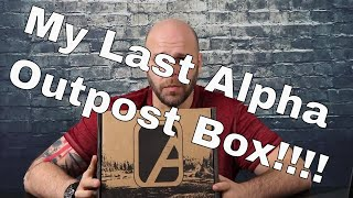 Alpha Outpost Unboxing: Prime Review - My Last Box!