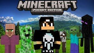 Превращение в Моба - Крутой МОД в Minecraft PE 0.14.0