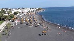 KAMARI black beach - SANTORINI GREECE