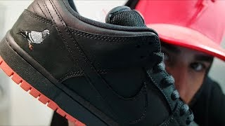 NIKE SB 'PIDGEON' DUNK REVIEW+ON FOOT!!!!WOW THESE WERE HARD TO GET SUPER LIMITED!!!