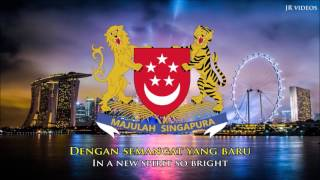 National Anthem Of Singapore  Malay/english