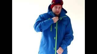 Cartel Baldface Mens Plus Size Ski Jacket Reflex