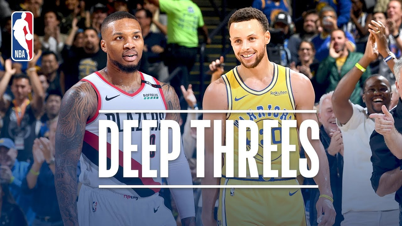 e1f154027444 Best Deep Threes From Stephen Curry   Damian Lillard!