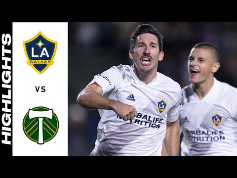Los Angeles Galaxy Portland Timbers Goals And Highlights