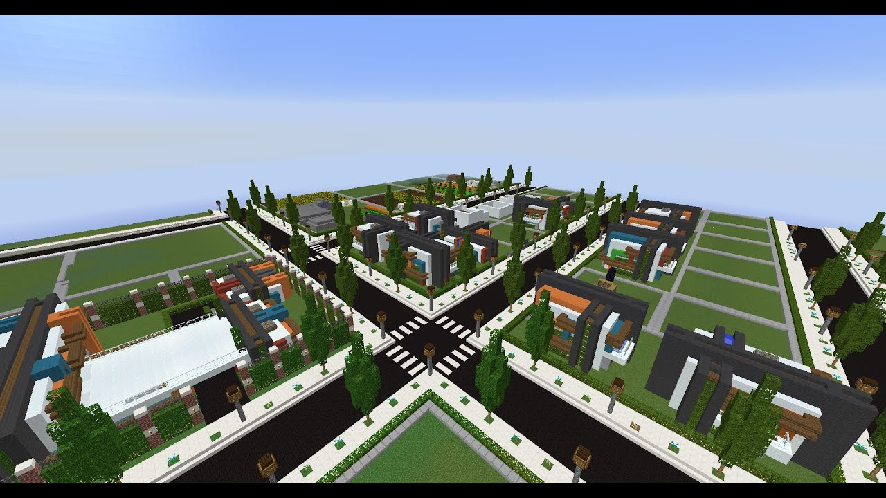 Lets Build a Modern City in Towny Part 3 YouTube